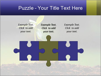 New Green Plant PowerPoint Template - Slide 42