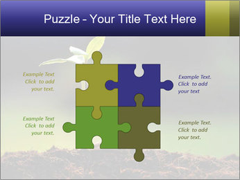 New Green Plant PowerPoint Template - Slide 43