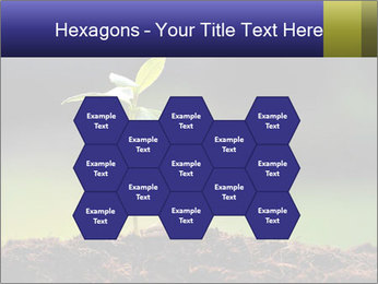 New Green Plant PowerPoint Template - Slide 44