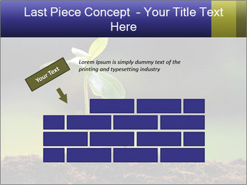 New Green Plant PowerPoint Template - Slide 46