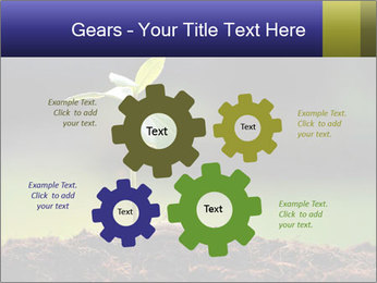 New Green Plant PowerPoint Template - Slide 47