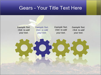 New Green Plant PowerPoint Template - Slide 48