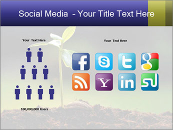 New Green Plant PowerPoint Template - Slide 5