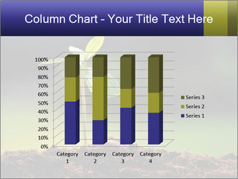 New Green Plant PowerPoint Template - Slide 50