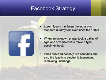 New Green Plant PowerPoint Template - Slide 6