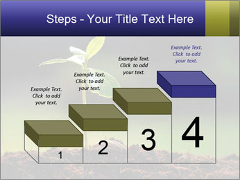 New Green Plant PowerPoint Template - Slide 64