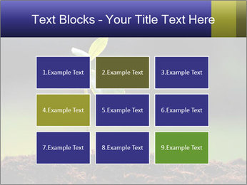 New Green Plant PowerPoint Template - Slide 68