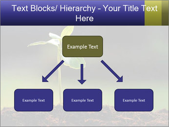 New Green Plant PowerPoint Template - Slide 69