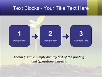 New Green Plant PowerPoint Template - Slide 71
