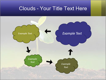 New Green Plant PowerPoint Template - Slide 72