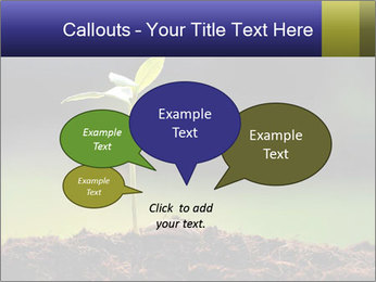 New Green Plant PowerPoint Template - Slide 73