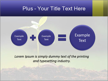 New Green Plant PowerPoint Template - Slide 75