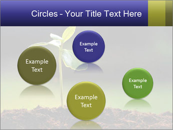 New Green Plant PowerPoint Template - Slide 77