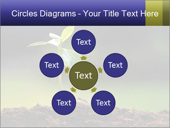 New Green Plant PowerPoint Template - Slide 78