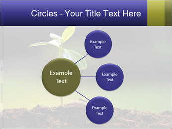 New Green Plant PowerPoint Template - Slide 79