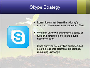 New Green Plant PowerPoint Template - Slide 8