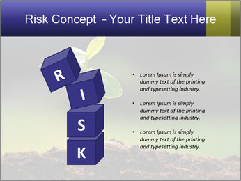 New Green Plant PowerPoint Template - Slide 81