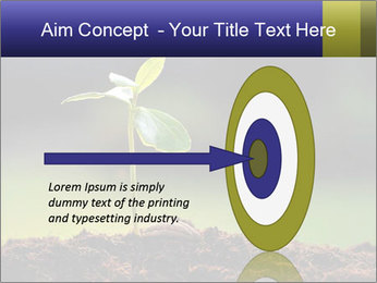 New Green Plant PowerPoint Template - Slide 83