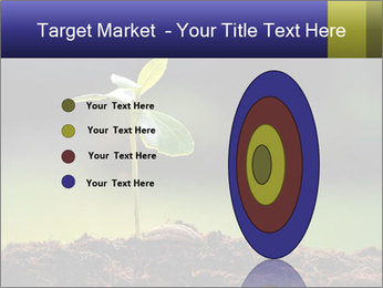New Green Plant PowerPoint Template - Slide 84