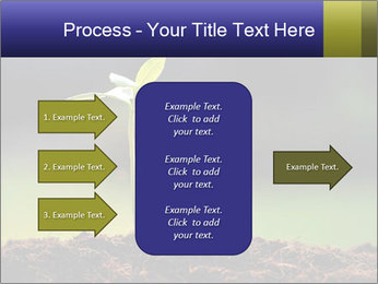 New Green Plant PowerPoint Template - Slide 85