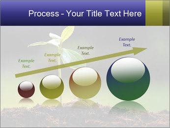 New Green Plant PowerPoint Template - Slide 87