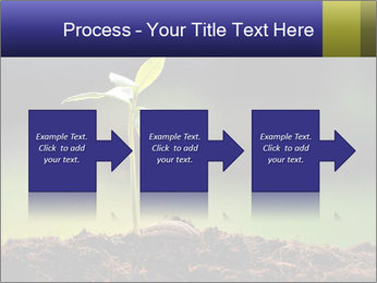 New Green Plant PowerPoint Template - Slide 88