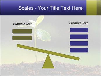 New Green Plant PowerPoint Template - Slide 89