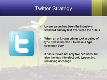 New Green Plant PowerPoint Template - Slide 9