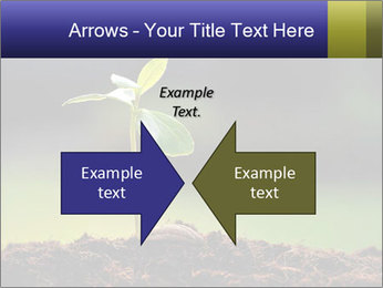 New Green Plant PowerPoint Template - Slide 90