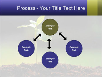 New Green Plant PowerPoint Template - Slide 91