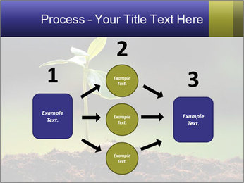 New Green Plant PowerPoint Template - Slide 92