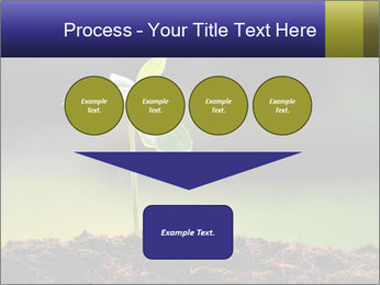 New Green Plant PowerPoint Template - Slide 93