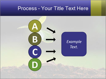 New Green Plant PowerPoint Template - Slide 94