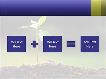 New Green Plant PowerPoint Template - Slide 95