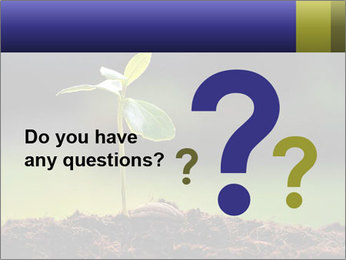 New Green Plant PowerPoint Template - Slide 96