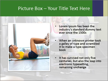 Woman Gym Workout PowerPoint Template - Slide 13