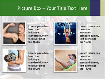 Woman Gym Workout PowerPoint Template - Slide 14