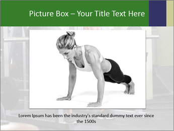 Woman Gym Workout PowerPoint Template - Slide 15