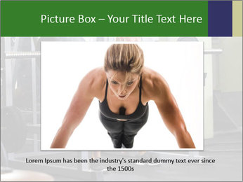 Woman Gym Workout PowerPoint Template - Slide 16