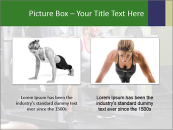 Woman Gym Workout PowerPoint Template - Slide 18