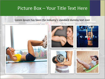 Woman Gym Workout PowerPoint Template - Slide 19
