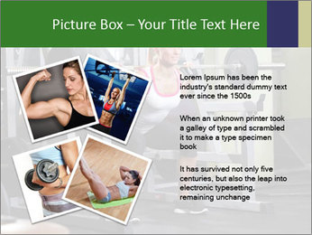 Woman Gym Workout PowerPoint Template - Slide 23
