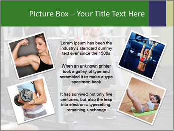 Woman Gym Workout PowerPoint Template - Slide 24