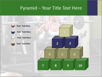 Woman Gym Workout PowerPoint Template - Slide 31