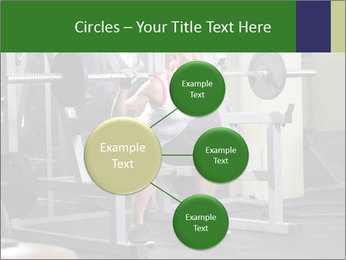 Woman Gym Workout PowerPoint Template - Slide 79