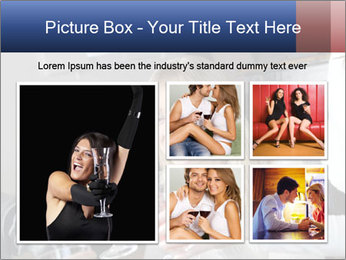 Friends Drink Together PowerPoint Template - Slide 19