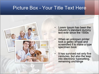 Friends Drink Together PowerPoint Template - Slide 20