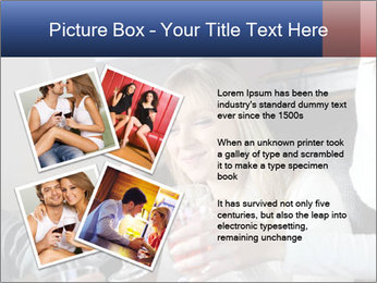 Friends Drink Together PowerPoint Template - Slide 23