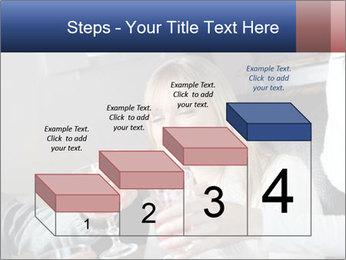 Friends Drink Together PowerPoint Template - Slide 64