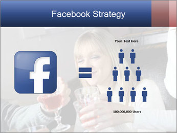 Friends Drink Together PowerPoint Template - Slide 7